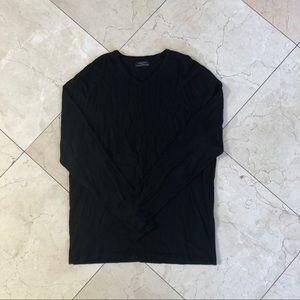 Zara Black V Neck